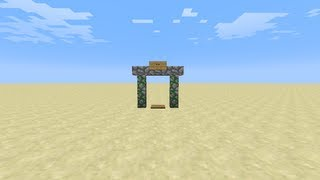 Magic Door [Minecraft redstone creation]