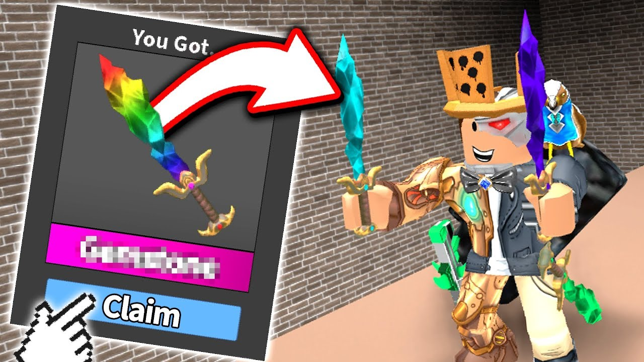 Getting Flames Given Free Seer Roblox Murder Mystery 2 Gameplay - This Is How I Got Scammed On Mm2 For My Chroma Ginger Blade