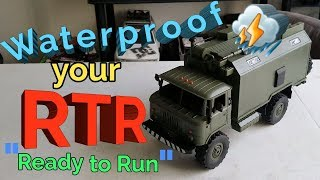 WPL B24 zh RTR waterproofing and HD tire Trick!