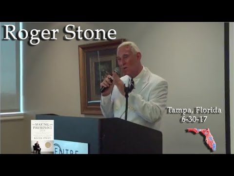 Roger Stone Speech Tampa, Florida 6-30-17