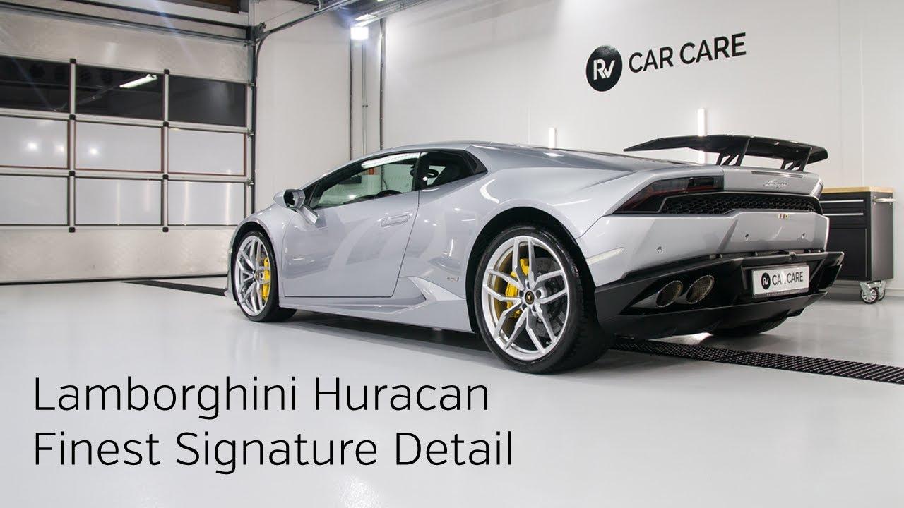 High End Detailing Lamborghini Huracan Finest Signature Detail