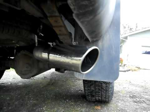 Mbrp 4 Quot Dual Exhaust Dodge Ram 2500 Diesel Youtube