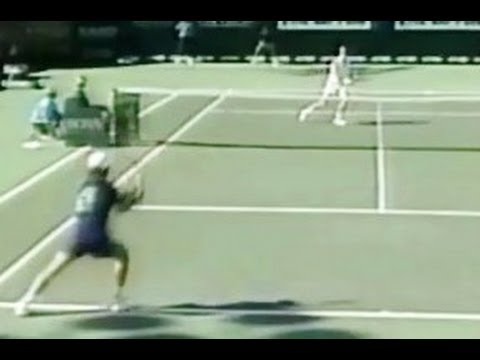unbelievable shots from andre agassi