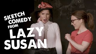 Lazy Susan's whimsical French woman in a film | Soho Theatre On Demand