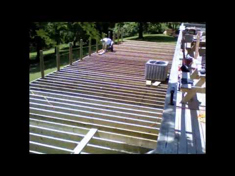 Mariners in Mission build Skyline's deck