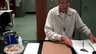 Denver Botanic Gardens Herbarium Specimen Demonstration