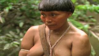 Isolated Amazon Tribe. Yanomami