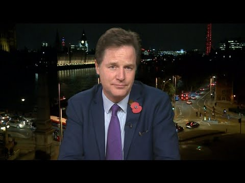 Exclusive: Nick Clegg explains how to stop Brexit