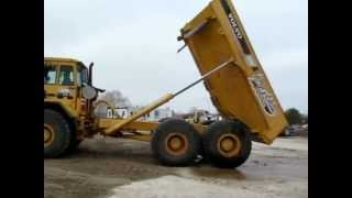 1993 volvo a30 articulated dump truck for sale   sold at auction march 7 2013
