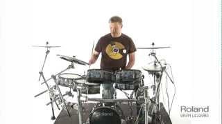 Roland Drum Lessons - Lesson 3 (Triplets)