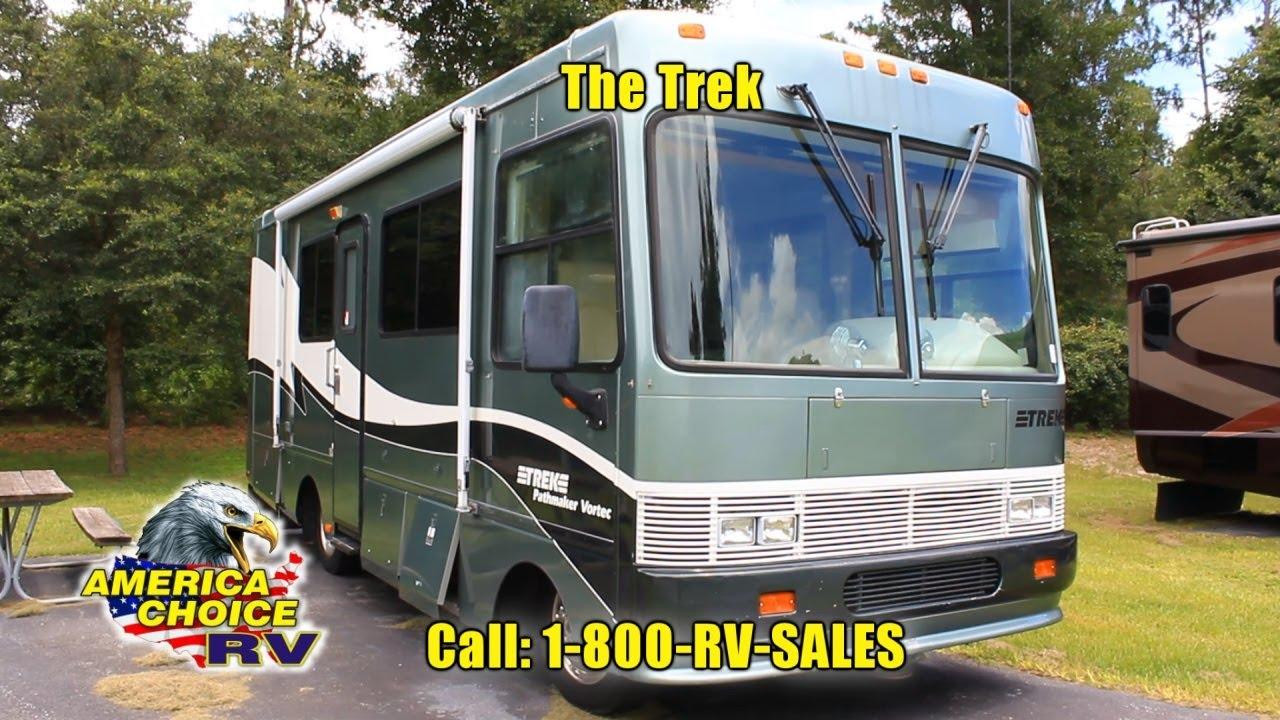 1999 Safari Trek 25 F Class A Motorhome RV America Choice RV