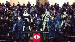 Gi Joe 25th/30th Anniversary Cobra Build Your Army Lot