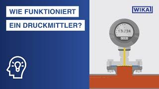 Wie funktioniert ein Druckmittler? | Einsatzbereiche und Vorteile bei der Druckmessung