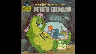 petes dragon read along book and record