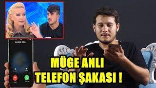 MÜGE ANLI TELEFON ŞAKASIYLA TROLLEDİM  !