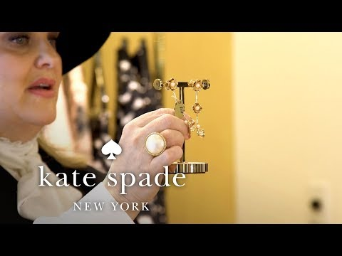 Jewelry: All About Pearls | February New Arrivals | Talking Shop With Tiffany | Kate Spade New York