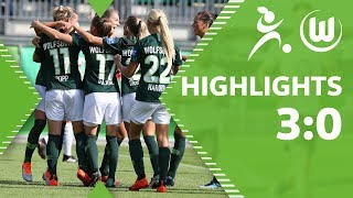 VfL Wolfsburg Frauen - 1. FFC Frankfurt 3:0 | Highlights | Bundesliga