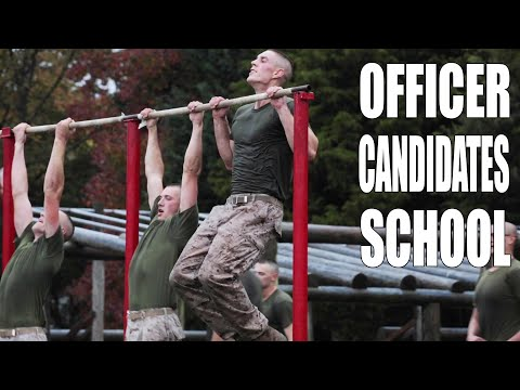 Officer Candidates School Training | United States Marine Corps