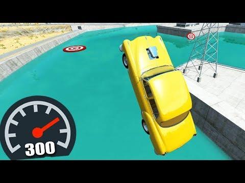 RAMPEI A 300 km/h NO LAGO!!! - BeamNG Drive