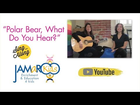 Polar Bear, What Do You See : Kids Educational Song : JAMaROO Kids