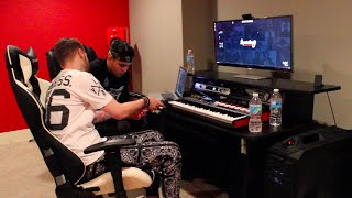 SuperStar O & Vybe Beatz In The Studio 2015
