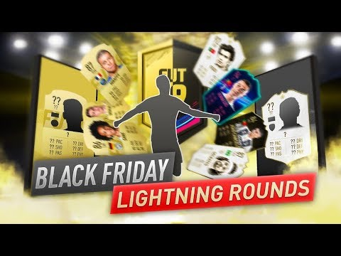 FIFA 19 BLACK FRIDAY LIGHTNING ROUNDS PACK OPENING !!! PROMO PACKS !!