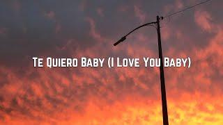 Chesca - Te Quiero Baby (I Love You Baby) ft. Pitbull \u0026 Frankie Valli (Lyrics)