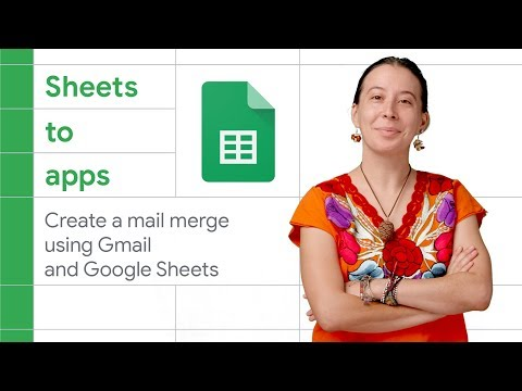Create a mail merge using Gmail and Google Sheets | Sheets to Apps