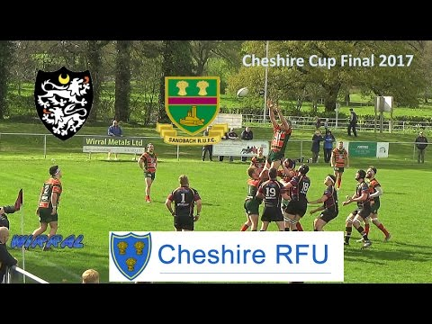 Cheshire Cup Final 2017 Caldy V Sandbach at Wirral Rugby Club