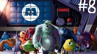 Disney Pixar Monsters, Inc. Scream Team Прохождение игры на PS1 # 8