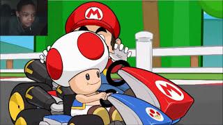 [WARNING GOREY CONTENT] Racist Mario REACTION | RACE TRAITORS!