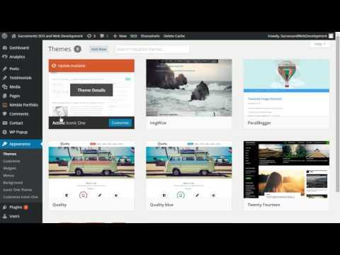 "Install a WordPress Theme (2016) & Possible Solution to Fix Missing ""Add New"" Theme WordPress Blog"