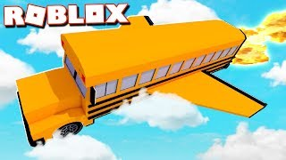 Roblox Adventures - THIS ROBLOX BUS CAN GO ANYWHERE! (Ro Trip)