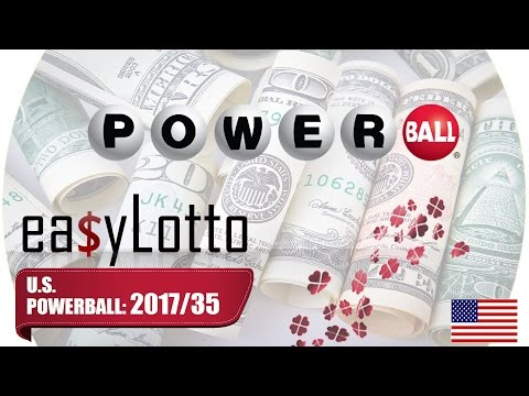 POWERBALL numbers 3 May 2017