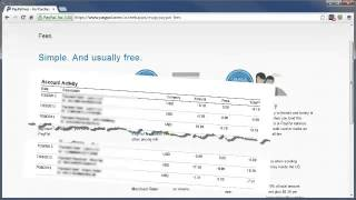 Paypal Tutorial - PayPal Fees - Paypal Explained