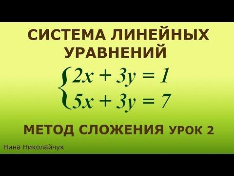 Линейные уравнения 7 класс