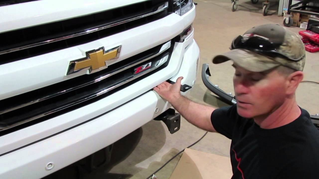 Frontier Grille Guard 2016 17 Chevy 1500 Installation
