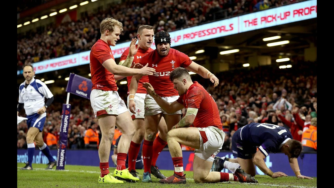 b3d75711902 Extended Highlights: Wales v Scotland | NatWest 6 Nations. Guinness Six  Nations