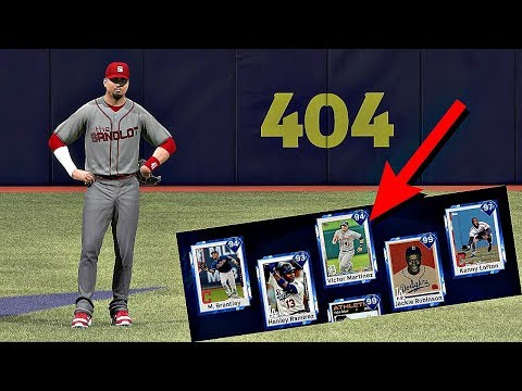 VICTOR MARTINEZ IN CENTER FIELD!! MLB The Show 17 Diamond Dynasty