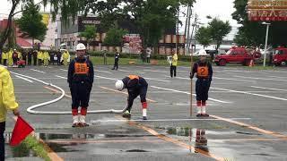 平成30年6月10日行われた伊那市消防団中部方面隊の操法大会です。