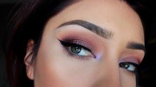 Purple-Berry look| Makeup Geek Shadows Thumbnail