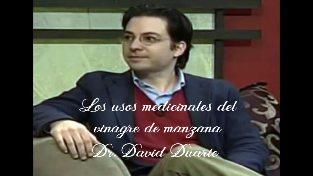 LOS USOS MEDICINALES DEL VINAGRE - DR. DAVID DUARTE - YouTube