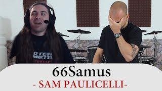 Gambar cover Drum Teacher Reacts To 66Samus - Sam Paulicelli