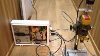 Сборка и тестирование блока электроники Proxxon ЧПУ