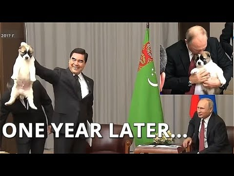 Russia's Putin Meets President of Turkmenistan To Discuss Fu