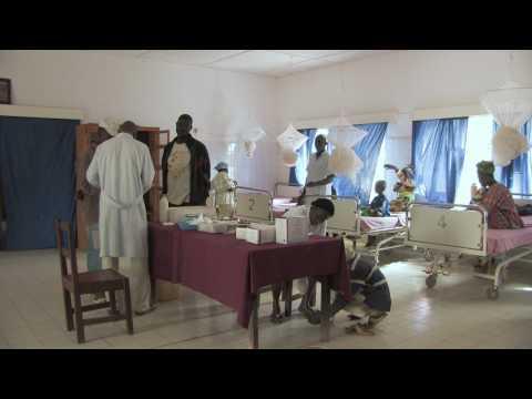 Die Buschklinik in Jahaly/Gambia - Jahaly Health Centre