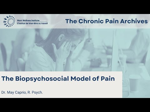 The Biopsychosocial Model and My Pain