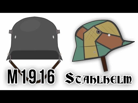 Stahlhelm M1916 (World War I)
