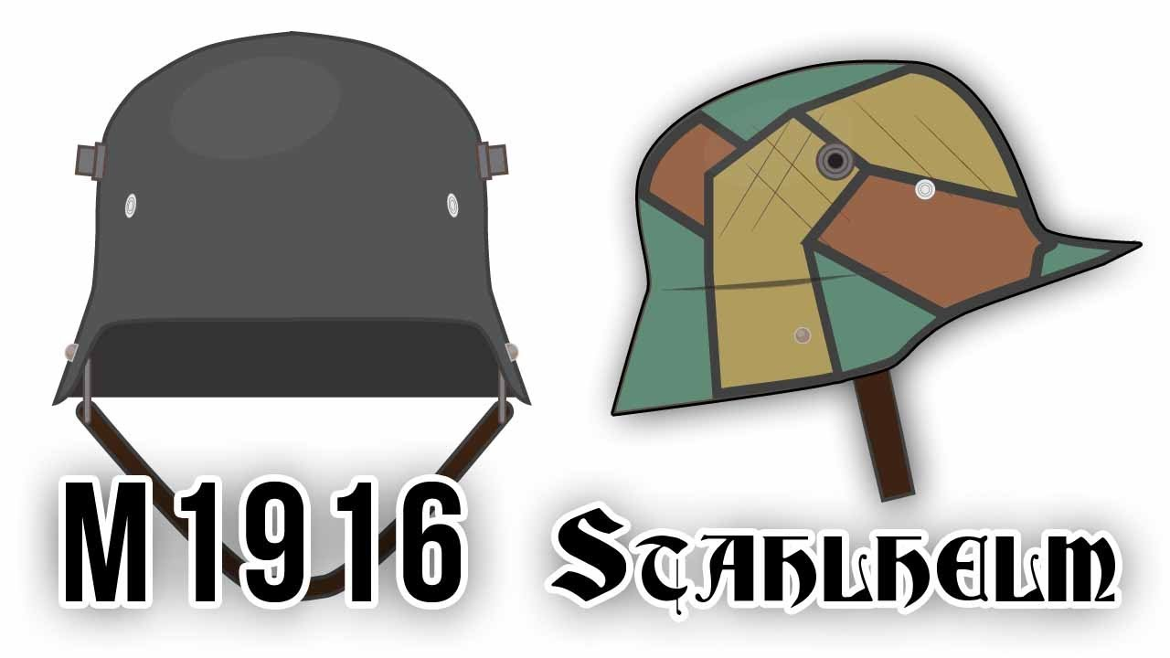 58c393fce35 Stahlhelm M1916 (World War I) - YouTube