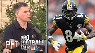 Antonio Brown's social media posts driven by emotion | Pro Football Talk | NBC Sports